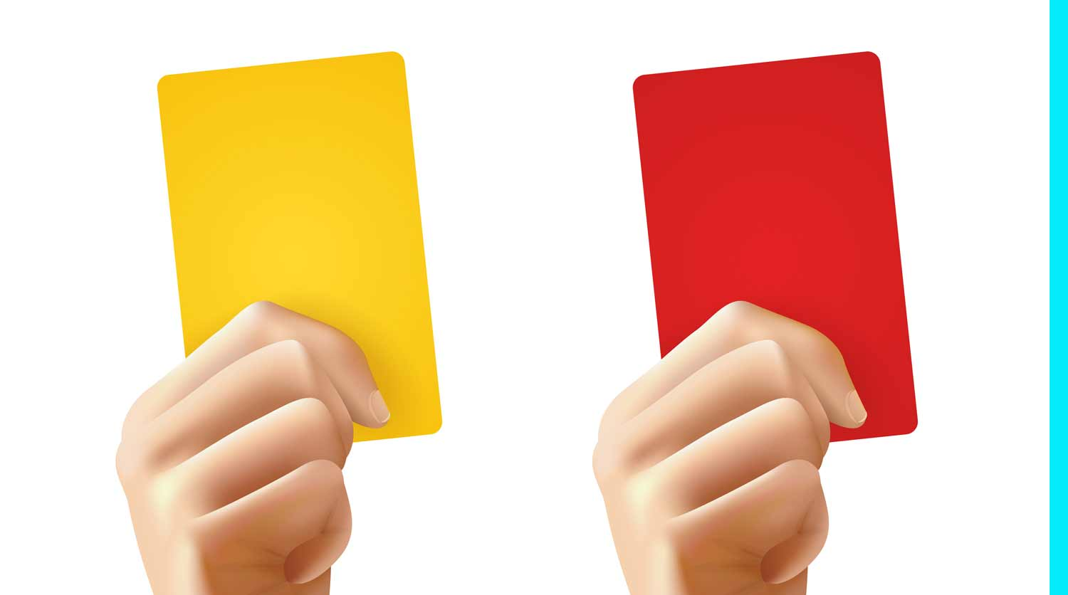 Red yellow card betting rules cbs sports nba betting