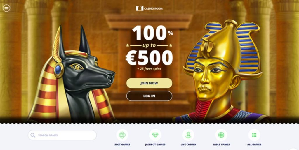 Casinoroom welcome bonus