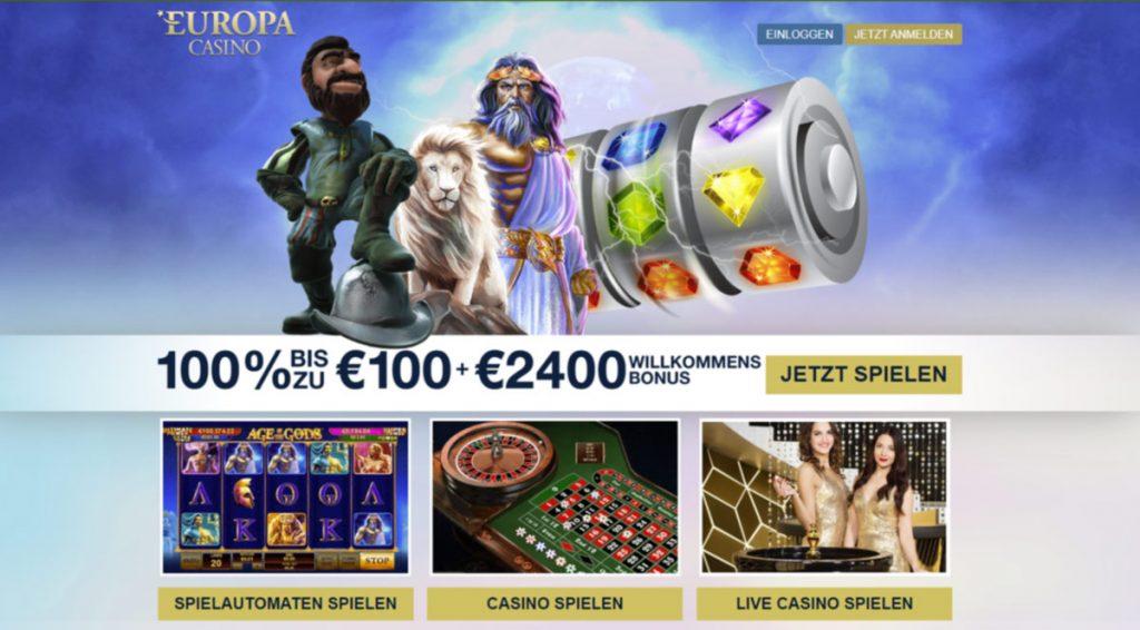 Europa Casino Login
