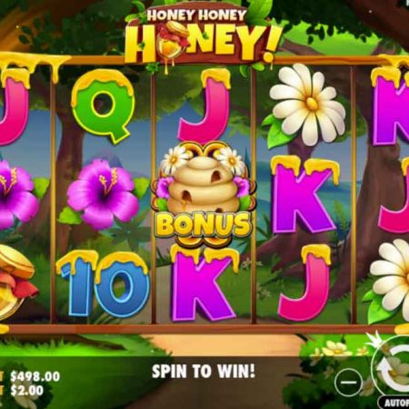 New slot for Pragmatic Play: Honey Honey Honey