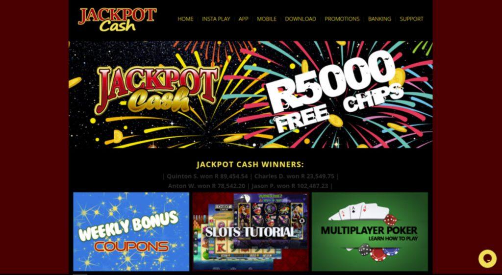 Jackpot Cash casino login