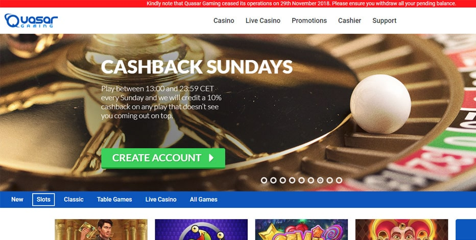 The best Quasar Casino alternatives for big winnings