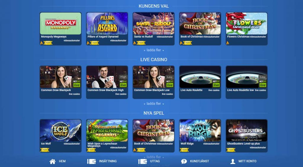 Karl Casino games, online slots and live casino