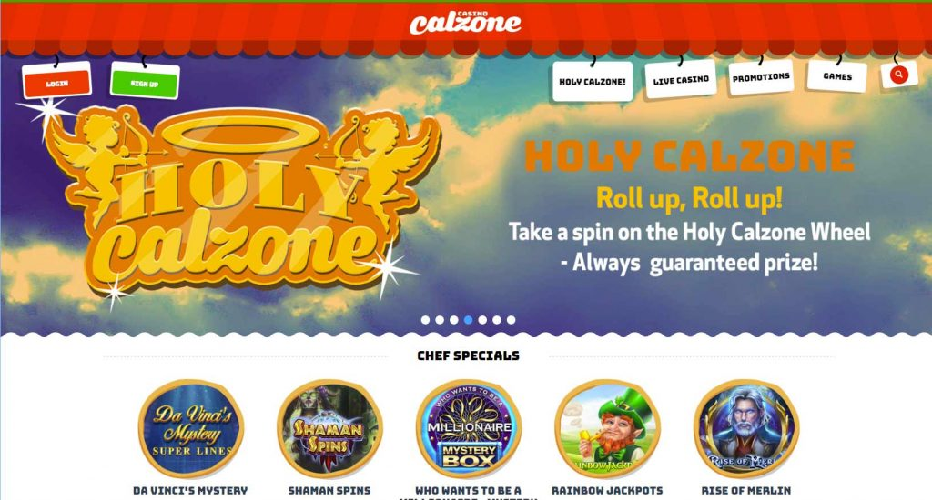 Casino Calzone login