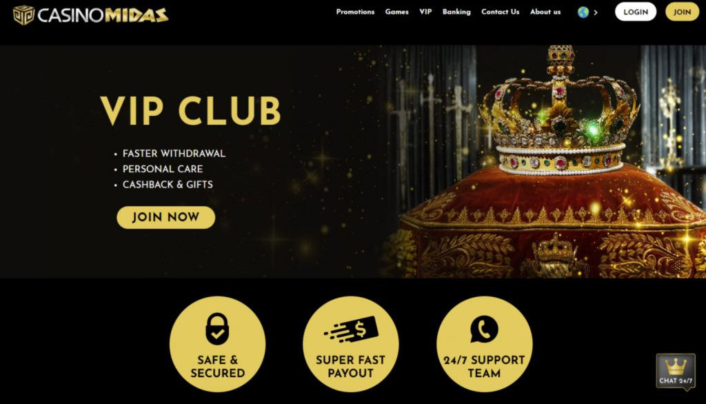 Casino Midas VIP Club