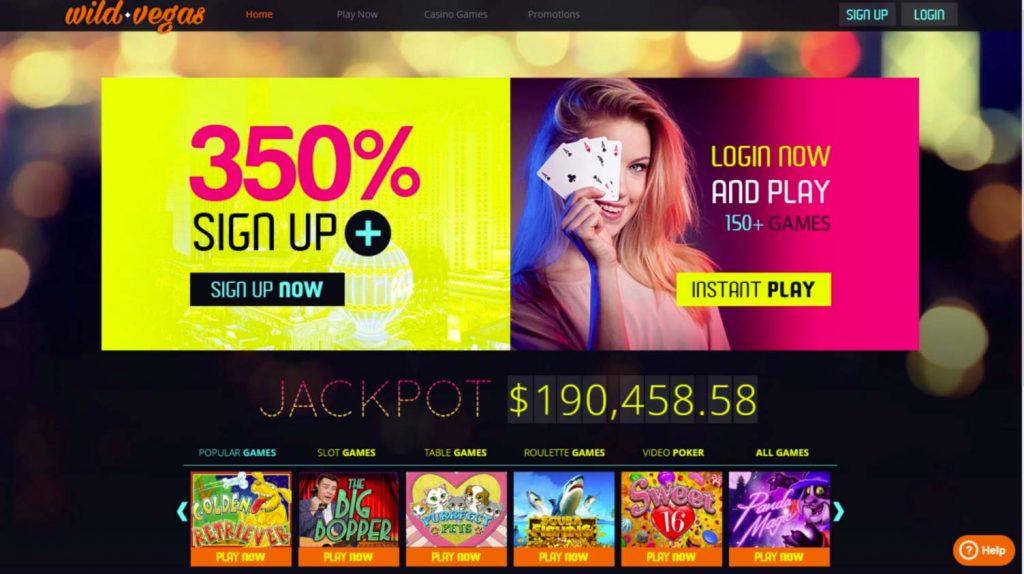 Wild Vegas casino login
