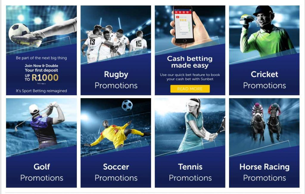 Sun Bet bonus and promotions