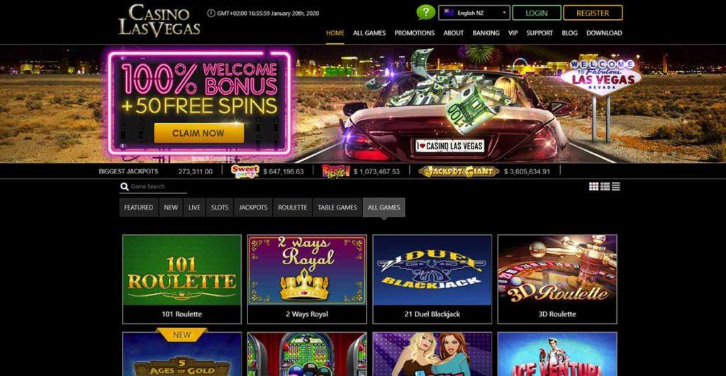 Casino Las Vegas welcome bonus