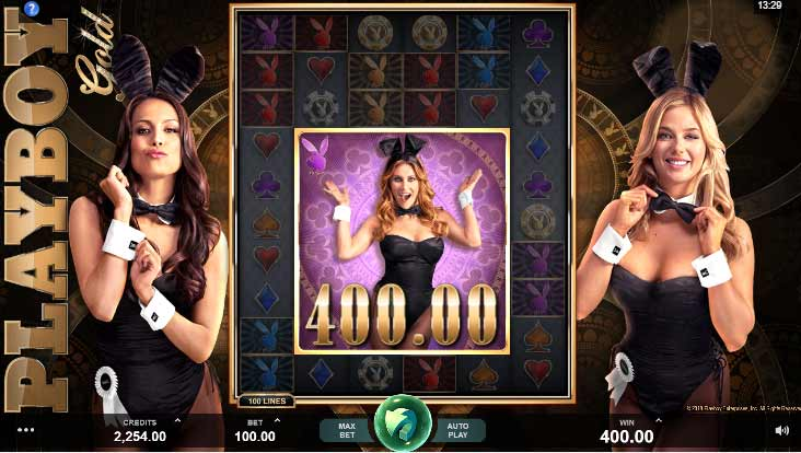 Playboy Gold adult slots
