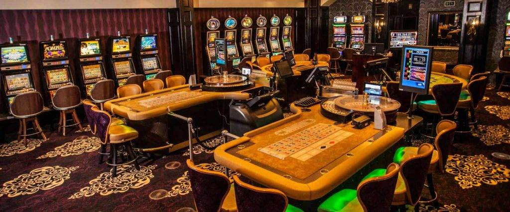 The Ridge Casino tables