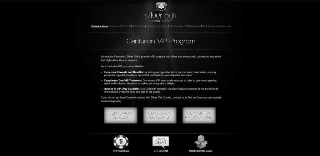 Silver Oak Centurion VIP club