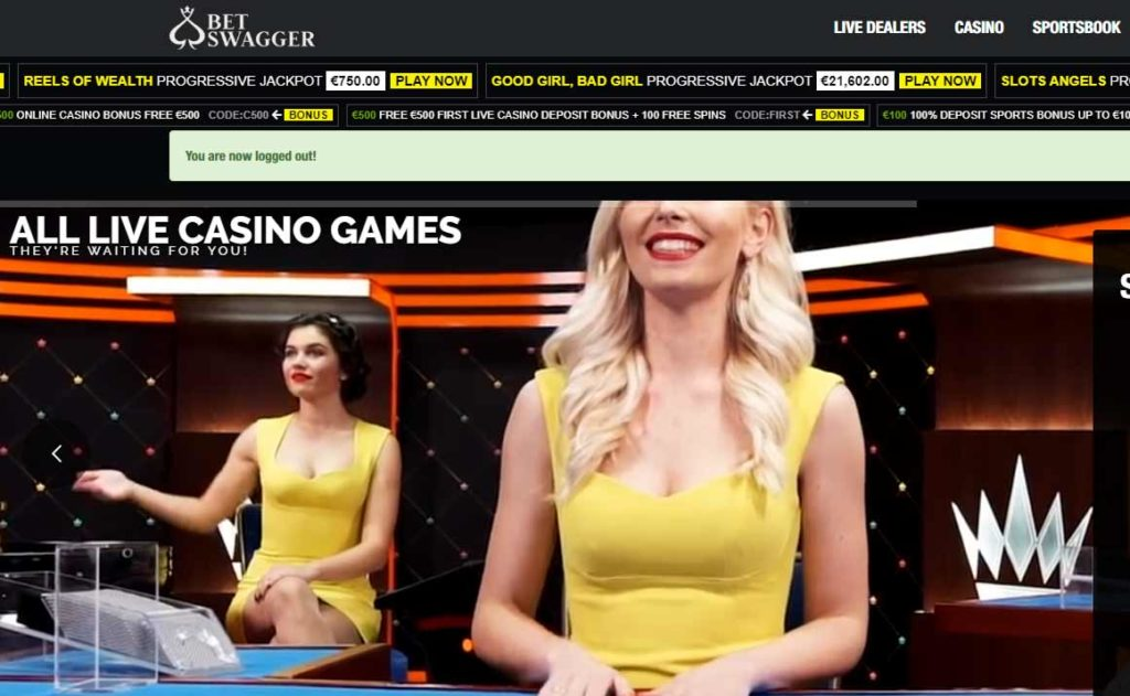 Betswagger casino and sportsbook