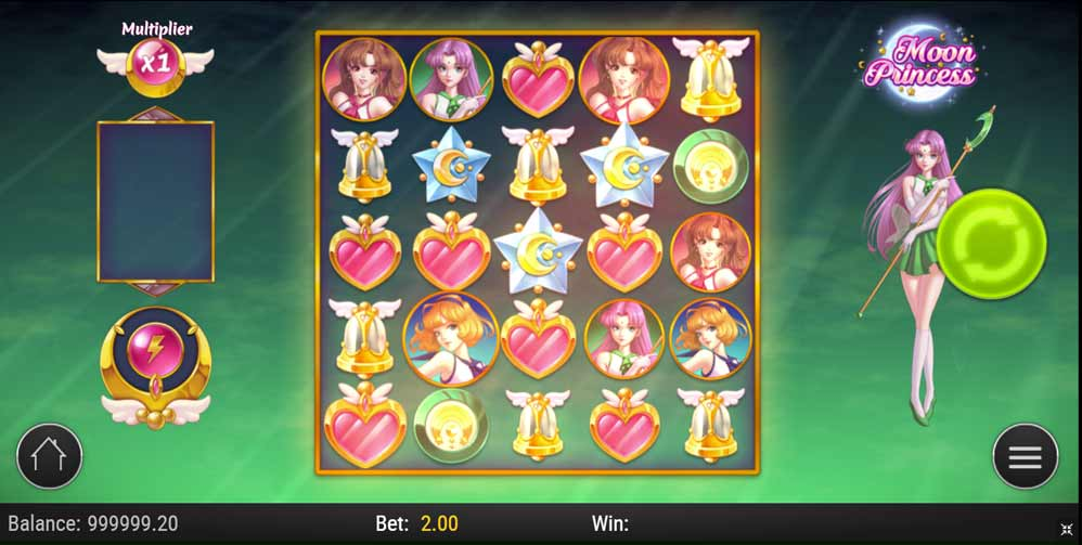 Moon Princess - Anime slots