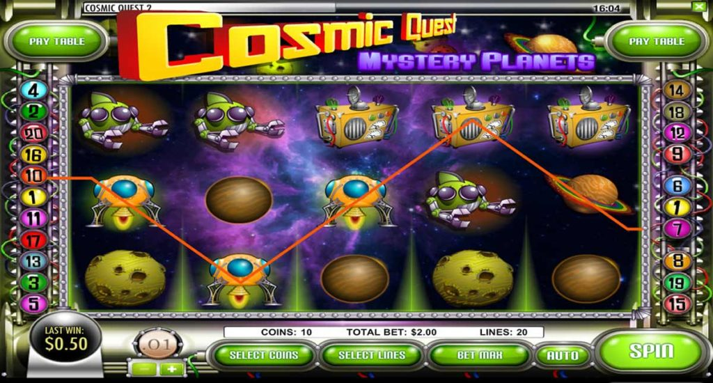 Cosmic Quest II - Mystery Planets