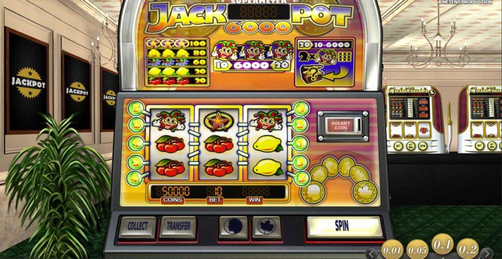 Jackpot 6000 - NetEnt