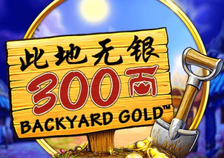 Backyard Gold