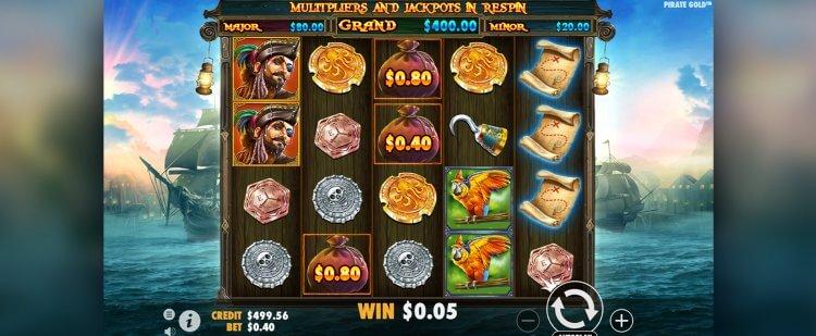 Pirate Gold Pirate Slots