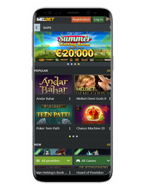 Melbet mobile casino
