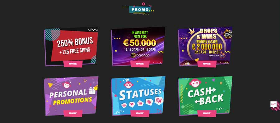 Booi casino bonuses, offers and promotions