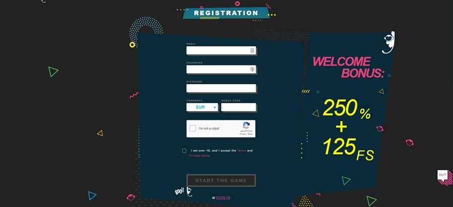 Booi casino registration