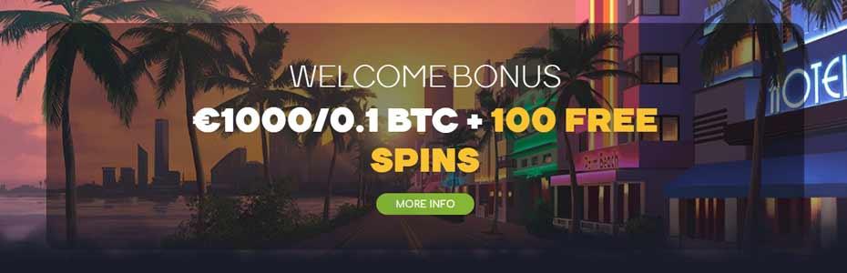 Wild Tornado Casino welcome bonus