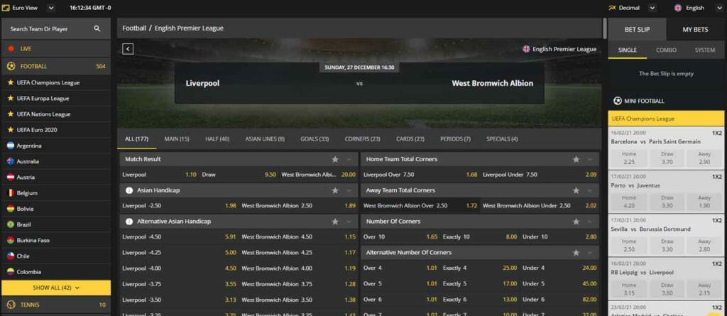 Betobet Sports betting