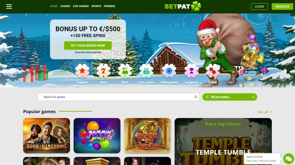 Betpat Casino and Sportsbook
