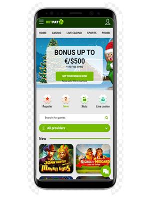 BetPat mobile app