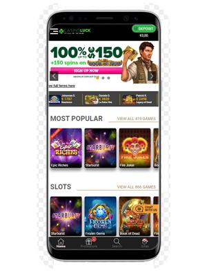 CasinoLuck Mobile app