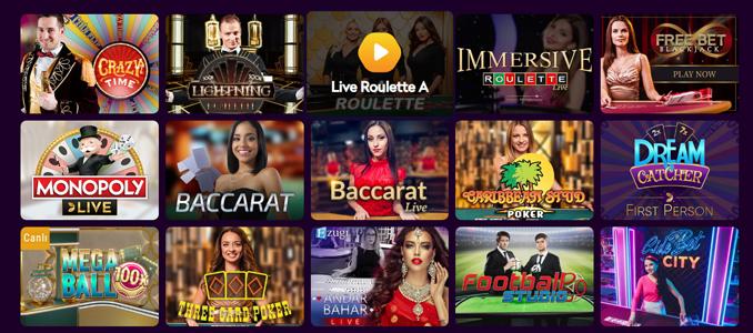 Casino360 live dealer games