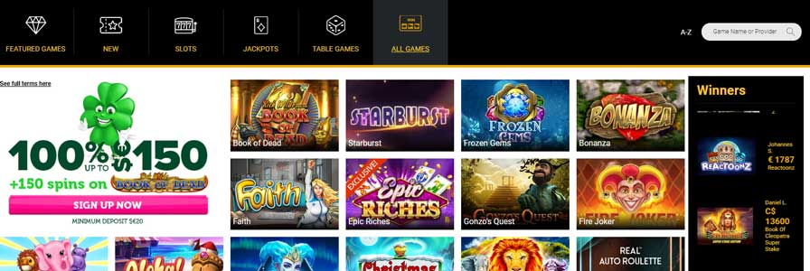 Slots and online casino games