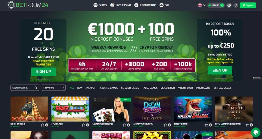 Betroom24 casino
