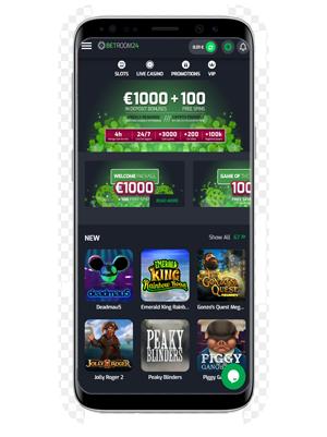 Betroom24 mobile app