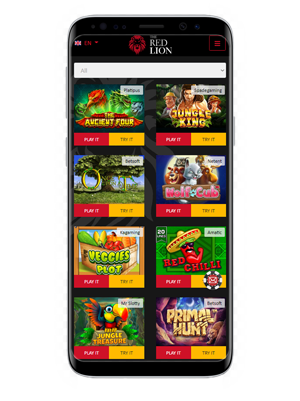The Red Lion mobile app