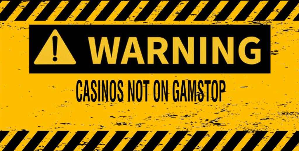 Casinos NOT on Gamstop - Caution