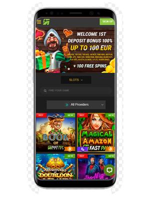 Fastpay Casino mobile app