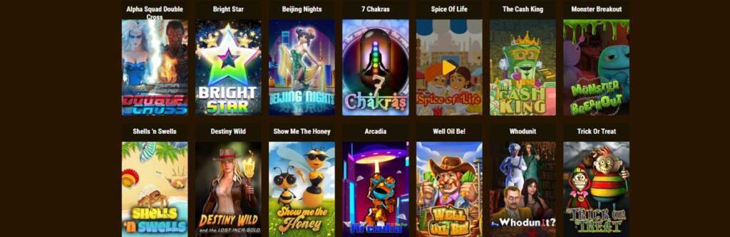 Grand Rush Casino games