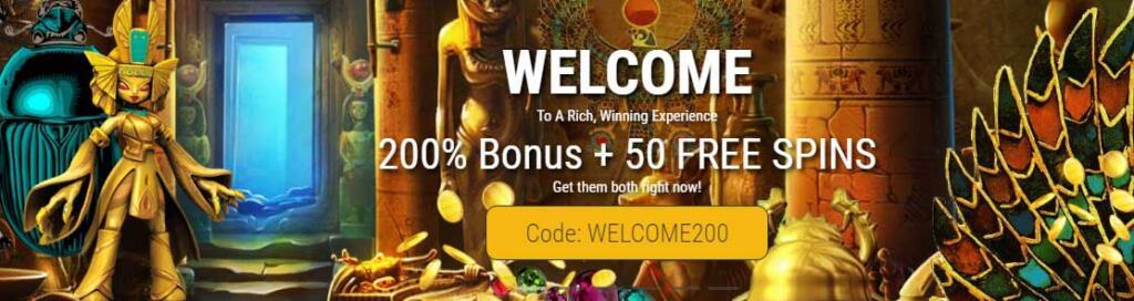 Grand Rush welcome bonus