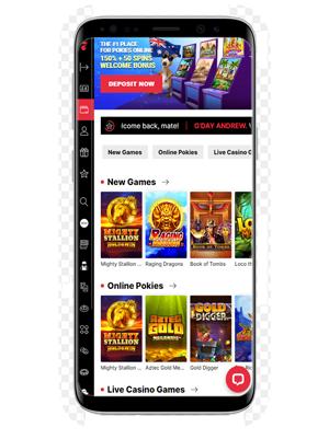 Pokie Place mobile app