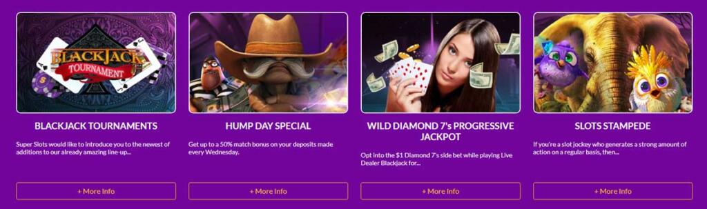 SuperSlots casino offers and promotions