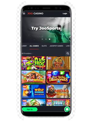 Joo mobile casino and sportsbook app