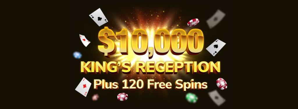 Kings Chance Casino bonus up to $10.000