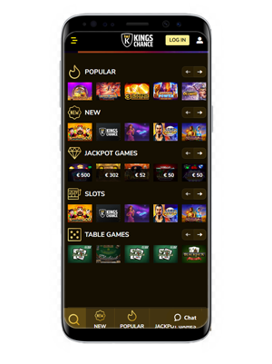 Kings Chance mobile app