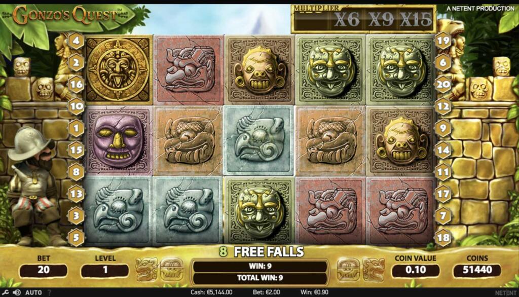 Adventure Slots - Gonzo's Quest