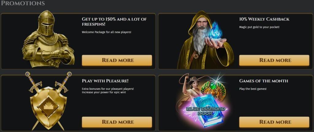 Aurum palace free spins and deposit bonus promotions